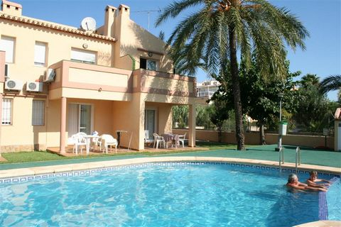 The urbanization is located on the beach road de las Marinas, 2 km from Denia and just 400 meters from the sandy beach. These are ground floor and first floor apartments, with a capacity for a max. of 4 persons. The complex has a garden area and an o...