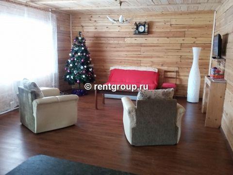Лот №i3846471. Сдам комфортабельный деревянный двухэтажный коттедж из струганного бруса \