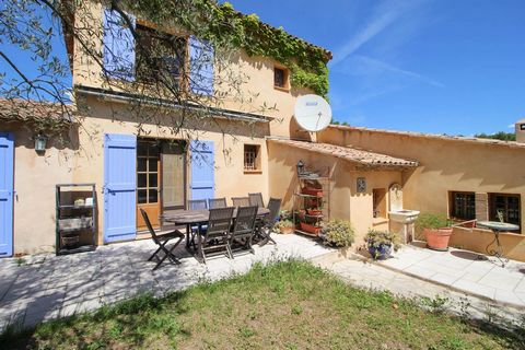 Beautiful provençal villa at only 5 minutes drive from charming village of Seillans, build in 1998 with taste and quality. This villa of 168 m² of living space offers an entrance, a vast living room with fireplace, a veranda, an equipped kitchen with...