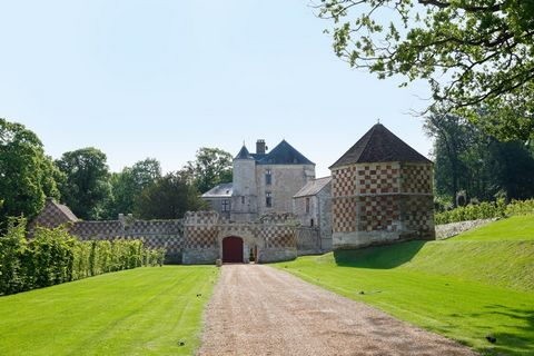 Dream property! This fully renovated medieval Chateau is located only 50 minutes from Paris, in an area of natural beauty. The owners are motivated sellers and serious offers are invited. On the edge of a national forest in the Vexin countryside, you...