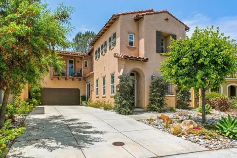 Beautiful upgraded newer Single Family home built in 2010 in the La Costa Ridge neighborhood of South Carlsbad. 2028 sq.ft. 3 bedroom, 4 bath Highly upgraded with Quiet back yard! No road noise. NEW wide plank hardwood flooring. Great room/kitchen wi...