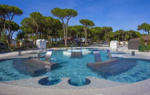 Situated on the Cavallino coast between Lido di Jesolo and Punta Sabbioni, Camping Village Cavallino offers to his guests modern houses and bungalows with satellite TV and air conditioning. The campsite houses are located in an incredibly green lands...