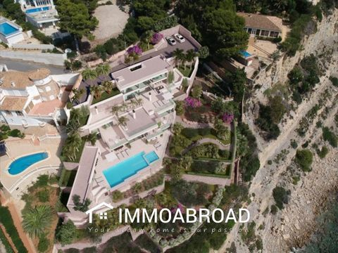 Description New project of a first line villa in Moraira with direct private access to the beach! The villa is huge with 4 levels, infinity pool with jacuzzi, poolhouse, solarium and a beautiful big garden. Not to forget the breathtaking view of the ...