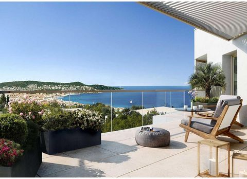 Nice West / Exceptional NEW program with SEA VIEW Panoramic: Expected delivery 3rd quarter 2021. 4-rooms apartments from 670,000 euros. Parking in the basement possible for 28,000 euros extra. This ADVERTISEMENT is GENERIC for all 4 pieces and is not...