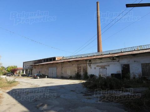 For more information call us on Tel: ... or 032 586 956 and quote reference number of the property: Plv 3973. Responsible Broker: Petar Pelovski The property is situated between the town of Pazardzhik and Ivaylo and has an industrial status. Access t...