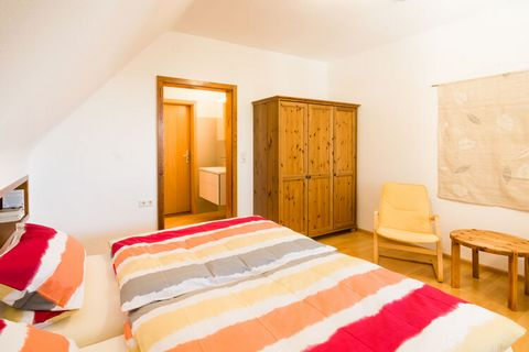 This modern and stylishly furnished apartment is located on the second floor of a holiday farm in Dachsberg, right on the edge of the forest. You can enjoy the peace and quiet and take in the pristine air on your private balcony. The shared garden ha...