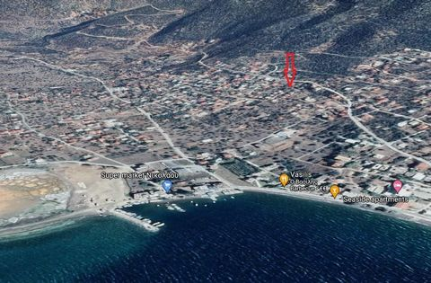 For sale a seaside plot of 1380 sq.m. with unrestricted sea views in the Corinthian Gulf at a distance of 500 meters at Alyki, Boeotia. The plot is out of the city plan but in a settlement with prospects to enter the plan in a short time. Distance fr...