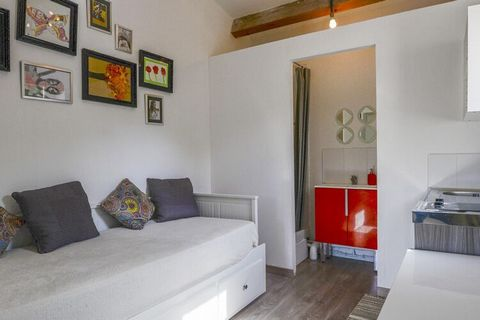 This pretty holiday home in La Roque d'Anthéron is a perfect vacation stay for 2 people looking for a romantic getaway. You will feel comfortable in its living room/bedroom. Relax in the swimming pool which is shared by other guests. Enjoy the delica...