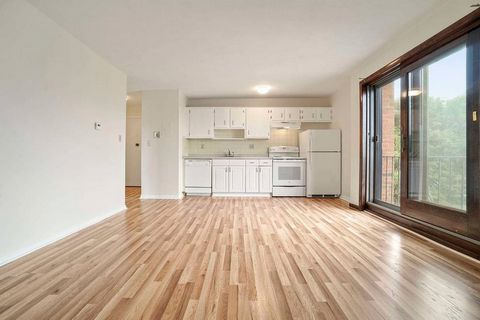 Bright and sunny one bedroom home in the heart of Orient Heights with Parking! This condo was just recently painted and features new floors, wall unit a/c, a new stove and laundry in the building. This is the perfect opportunity for a first time home...
