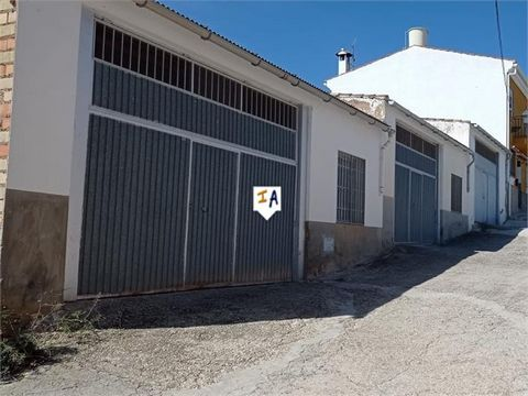 EXCLUSIVE to US. This commercial property of 120 square metres is located in the village of Cuevas de San Marcos, in the province of Cordoba, a short distance from the Genil River and the Iznajar reservoir. The workshop property has a bathroom to ref...