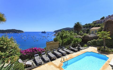 AYPIOSS - GROUPEMENT IMMOBILIER Côte d'Azur - luxury villa rental VILLA GEORGES, VILLEFRANCHE S/MER: Luxury villa with panoramic sea view, 350m2, 6 chambres, 12 guests Price: on application Tel: +33 607 612 586 info@aypioss.com www.aypioss.com Walkin...