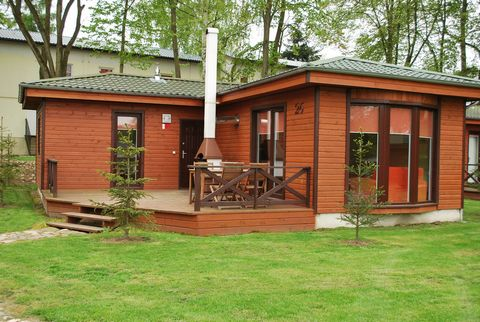Reservations for 2019 will be confirmed by the owner after the 1st of January 2019. Less than 1.5 hours drive from Berlin, this holiday park on a lake is situated near the Polish village of Lagow. The park was built between 2008 - 2009 and consists o...