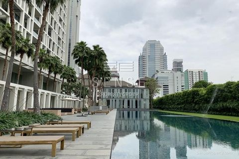 Property for SALE of 321 sq.m at The Sukhothai Residences in East Sathorn-Saladaeng. Consists in 4 bedroom, Air-conditioning, Storage room, Green view, High floor, Balcony/terrace, Private pool, Private elevator, Maid area. The Sukhothai Residences o...