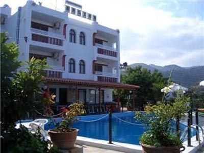 Located in Agios Nikolaos. Complex of tourist apartments a few kilometers from the center of the cosmopolitan town of Agios Nikolaos a few minutes walk from a lovely sandy beach. The complex has 22 apartments / 72 beds. There are 4 studio apartments....