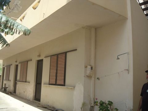 Located in Agia Pelagia. Two-storey building, about thirty meters from the main beach of Agia Pelagia, right in the center of the village. Agia Pelagia is a popular seaside resort featuring a beautiful sandy beach tucked away in a secure cove. The bu...