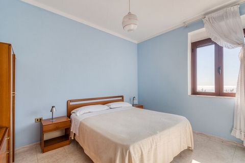 With well-kept surroundings and no-frills interiors, this apartment will keep everyone happy. Located in Marina di Camerota, it can accommodate about 5 people in 2 bedrooms. With garden here, feel blessed amid nature and its bounty here.Supermarket c...