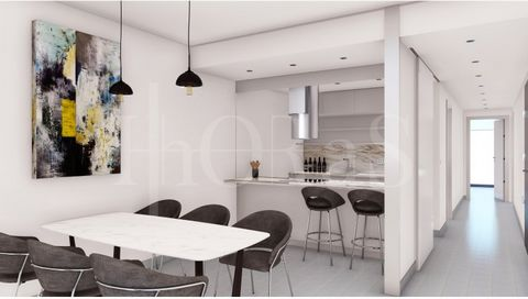 3 bedroom apartment with 123.43 m2 in a new development, located in Rua de São Lázaro, Lisbon. Living room with fully equipped kitchen. Three bedrooms one of which is en suite, two full bathrooms. All rooms have air conditioning. Located on Rua de S....