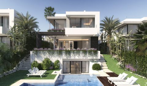 The project incorporates pergolas, water sources, pedestrian paths, gardens with flowers, fruit trees and native and private gardens in 5,000 m2 of Mediterranean gardens. 13 luxury villas in contact with the environment. Four bedrooms, three bathroom...