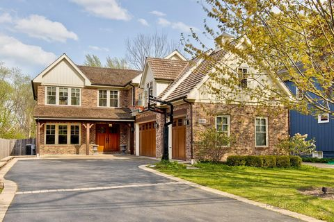 Custom built six bedroom, 5.1 bath home nestled in the heart of Northbrook on an oversized lot offering gleaming hardwood floors throughout the main level, high-end finishes, huge finished basement, and so much more! Inviting entryway welcomes you i...