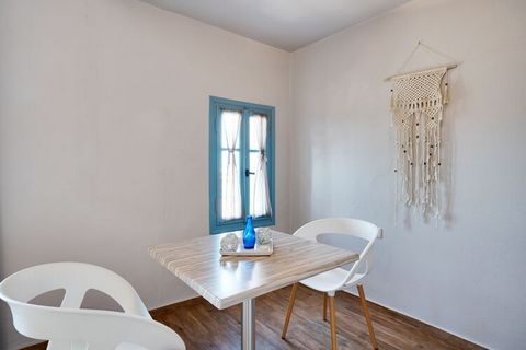 Kickstart a fantastic vacation far from the madding city crowd in this apartment in Lesvos Island for a family or a group of 2. There is 1 bedroom equipped with a TV, balcony and air-conditioning, alongside a shared swimming pool and parking facility...