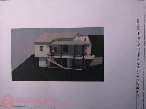 Projet de villa neuve de type T4 d'environ 170 m²