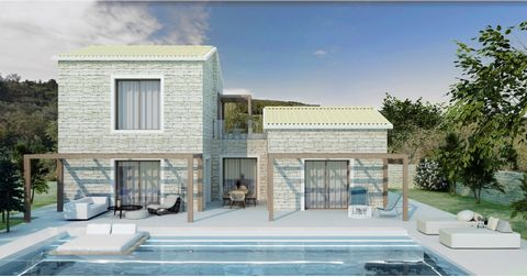 For sale a dreamy under construction villa of 145 sqm situated close to Gaios, on Paxos island. The architecture of this project combines all the elements of Greek beauty. The elements of stone and wood, in combination with the great sea view will ma...