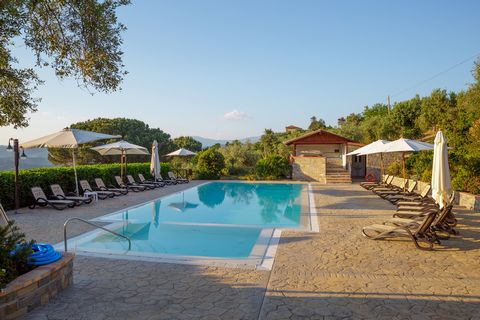 This beautiful farmhouse is located in the pristine countryside in the heart of the Cilento National Park. Nestled among the hills overlooking the sea, it lies among thick olive groves and the lush greenery of an amazing natural landscape. The resort...