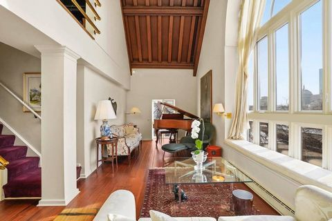 Available for the first time since the mid 1970's. Located in the heart of Beacon Hill, 27 Chestnut Street is one of the most iconic buildings offered in the city. It was formerly a church, which is evident from the outside structure. There is an ope...