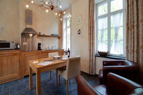 This beautiful 16th century castle is located on the river Amblève, in the middle of nature, yet close to the center of Aywaille (500 m). This apartment can host 2 people, making this home a perfect stopover for couples. In the middle of nature and a...