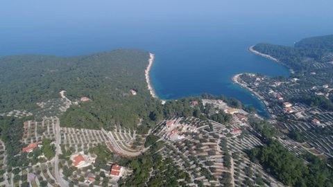 Luxury real estate Dalmacija Farkaš, sells construction land first row to the sea, with its own beach, mixed purpose. For all information, please contact us via our e-mail.