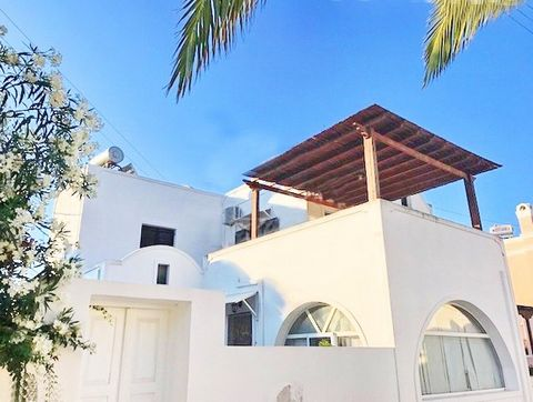 SANTORINI Messaria, apartment 70 sq.m at the 1st floor with 2 bedrooms and 2 bathrooms Built in 2004 in excellent condition Year of Construction: 2004 Bedrooms: 2 Bathrooms: 2 Area: 70