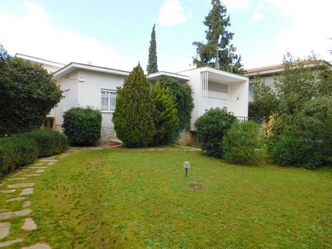 Psychiko, Athens College, Detached house For Sale, 374 sq.m., In Plot 1125 sq.m., Property Status: Good, 1 Level(s), 3 Bedrooms (1 Master), 1 Kitchen(s), 2 Bathroom(s), 2 WC, Heating: Autonomous - Natural Gas, View: Cityscape, Building Year: 1960, En...