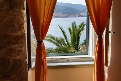 This 1-bedroom apartment in Vis, Dalmatia, is located near the sea. You can enjoy sea views along with delightful meals from the shared terrace. The apartment is ideal for a couple, or family of 3 persons, or a group of 3 friends. Viz is a gem in the...
