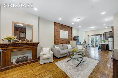Beautifully renovated 2-family townhouse in Bed Stuy, Brooklyn with 2,135 square feet to expand! Built-in 1899, the brownstone is currently configured as an owner's upper duplex over a high-income garden and finished basement rental. The upper duplex...