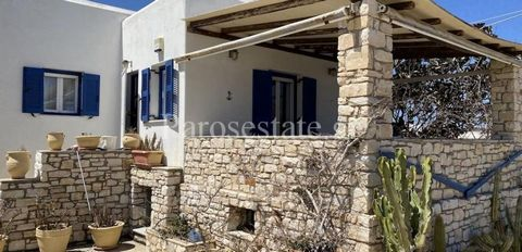 On the east side of the island traditional house 137,19m² in garden 130,92m². The house is above a golden beach of Abelas and extends in 2 levels. On the ground floor spacious living room with fireplace that leads to a large veranda with view to the ...