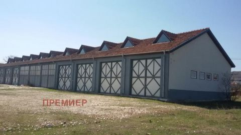 For sale an industrial building in the village of Ovchepoltsi, 19 km from the town of Varna. Pazardzhik, which is a large renovated brick warehouse with 11 cells with an area of 825 sq. m. There is a smaller building-a porter area of 27 sq. m. The bu...